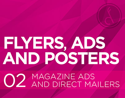 Flyers, Ads & Posters :: Magazine Ads & Direct Mailers