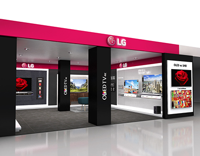 LG Shop in Shop @ Nethelands