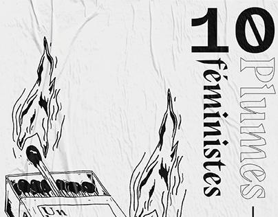 EDITION - 10 PLUMES FEMINISTES