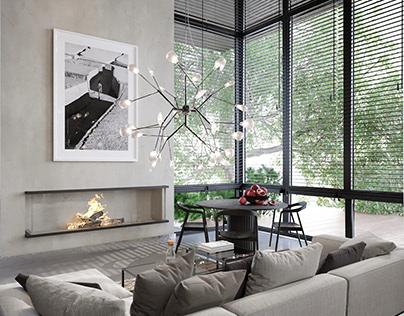 Luxury Modern House Interior Design, Vancouver, Canada