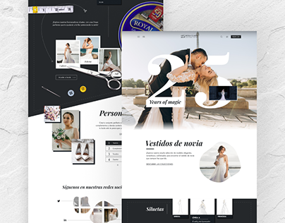 ROSA CLARÁ - Web Redesign (Concept)