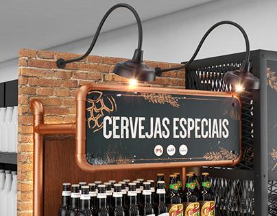 Gondola Cervejas Especiais