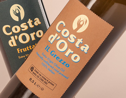 Visual identity and packing design Costa d'Oro