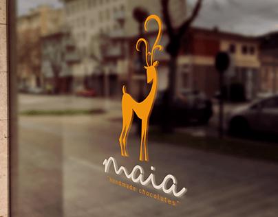 Maia Chocolates Branding, E-Commerce Web UI/UX