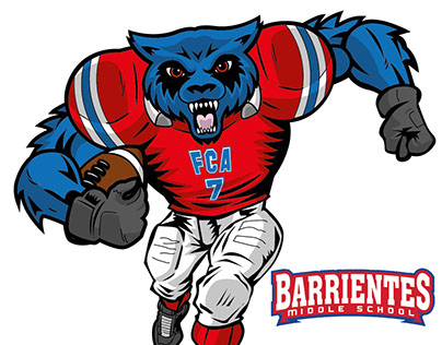 SCHOOL MASCOT - Barrientes Middle, TX