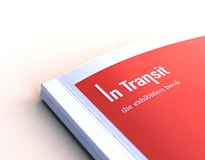 """Exhibition book for """"In Transit"""""""