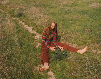 Erin in a Field