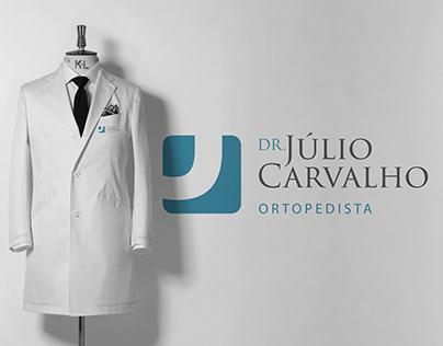 LOGO E IDENTIDADE VISUAL - DR. JÚLIO CARVALHO