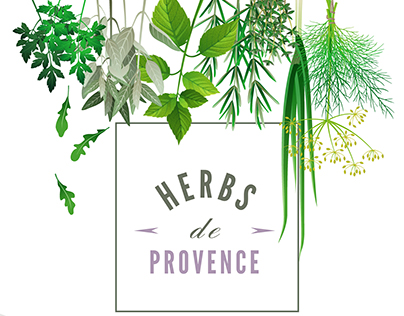 Web Mockup for Herbs de Provence