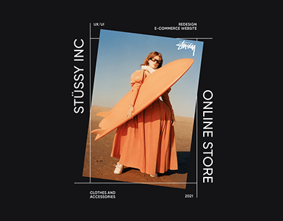 Stussy | E-COMMERCE WEBSITE CONCEPT