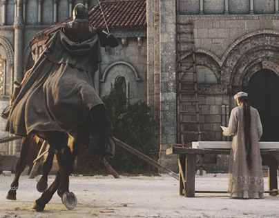 """Grail"" VFX breakdown"