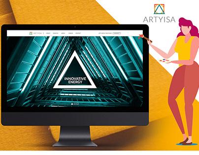 Landing page design, UX/UI Design, Web Design