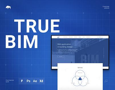 TRUE BIM — Corporate site