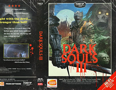 DARK SOULS 3 /// 80's VHS COVER