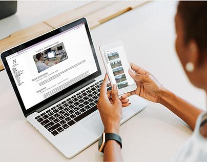 Site NACHDA Abderrahmane Design