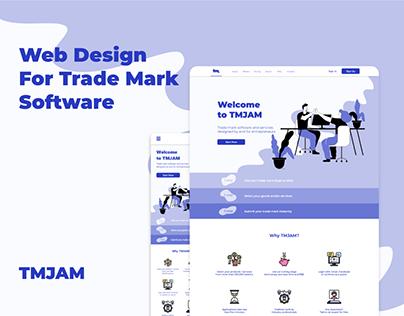 Web Design For Trade Mark Software