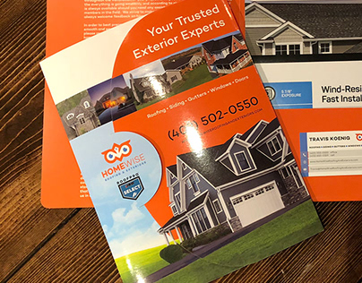 HomeWise Roofing & Exteriors Folders