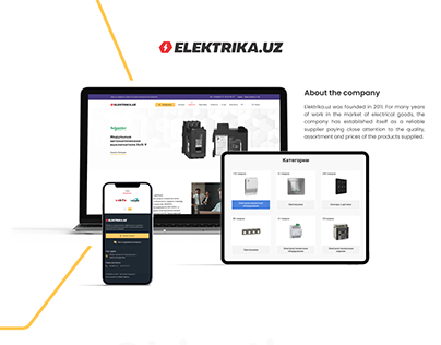 Elektrika.uz   Web design