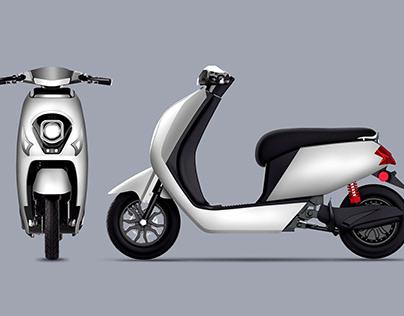 Electric motorcycle—L&Z