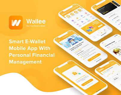 [App Design] Smart Wallet App with Financial Management