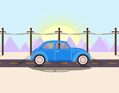 Car parallax