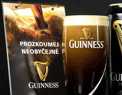 Guinness Table Tent