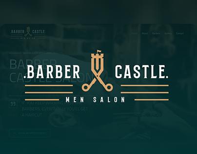 Barber Castle - Website Design & Development
