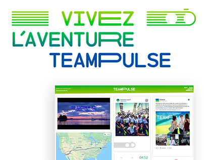 Teampulse - Sport & Social web dashboard