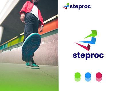 steproc logo branding