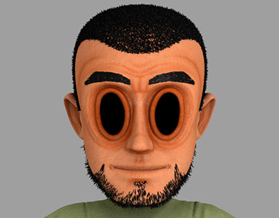 Jacky Rogers 3D Character