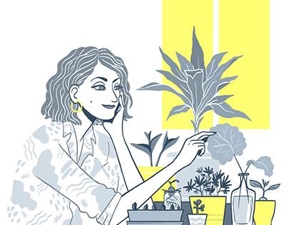 Talee - illustration