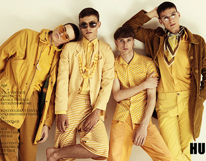 """Golden boys"" for HUF magazine"