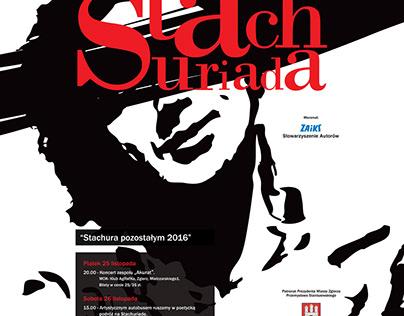 """Stachuriada"" 2015-2018 Poster"