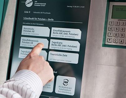 User Centered Design of a Ticket Machine
