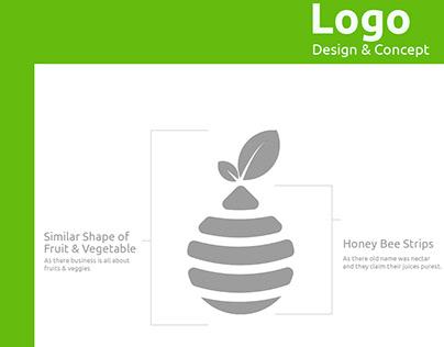 Malibu Pure Concept   Branding Identity