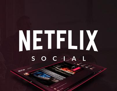 Netflix Social - Projeto Conceitual