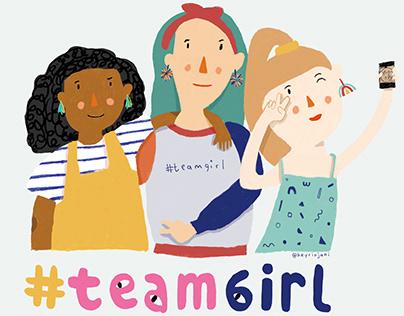#TeamGirl