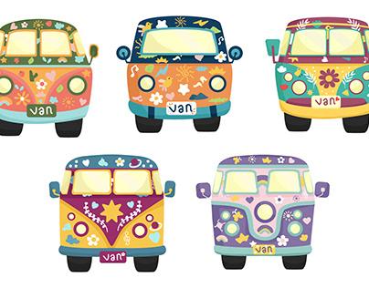 The Hippie Van