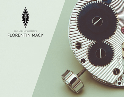 Logo, Letterpress & Brand Identity // FM Watchmaker