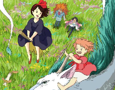 One beautiful world of Hayo Miyazaki