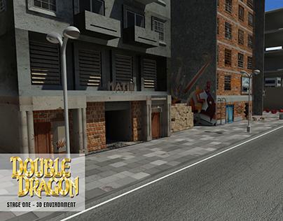 Double Dragon - 3D Environment