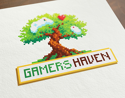 Gamers Haven - Logo Design