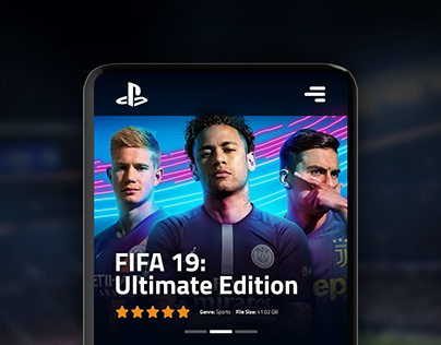 Playstation Store App Redesign