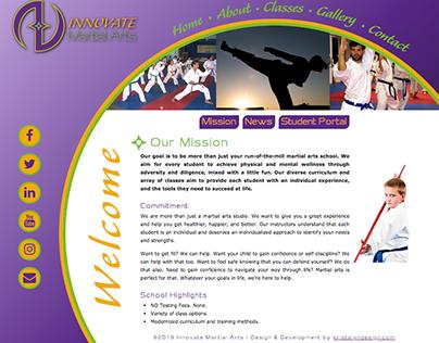 Innovate Martial Arts - Website & Branding