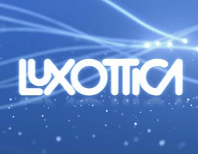Luxottica – Logo Animation