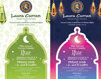 iftar flyer design