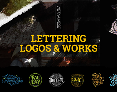 Vietnamese Lettering Logos & Works Collection