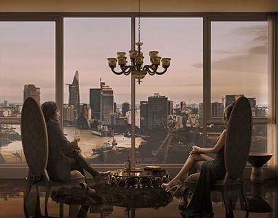 Saigon Twilight | CGI
