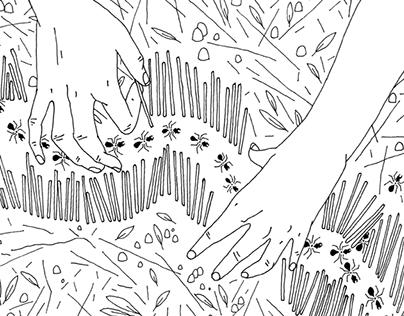 Pistil et pollen