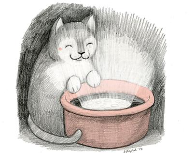 Illustration Friday: MOON